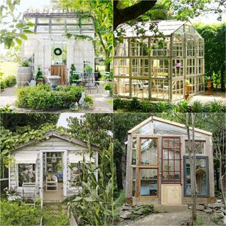 12 Most Beautiful Diy Shed Ideas With Reclaimed Windows Diy Greenhouse Greenhouse Beautiful Backyards