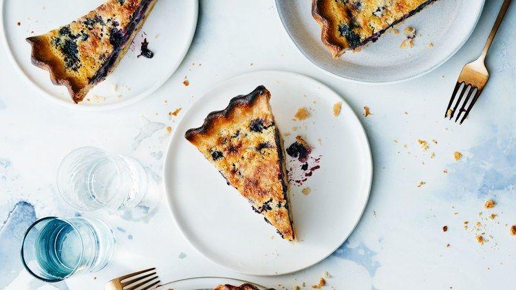 Blueberry Buttermilk Chess Pie Recipe Buttermilk Chess Pie Blueberry Recipes Chess Pie
