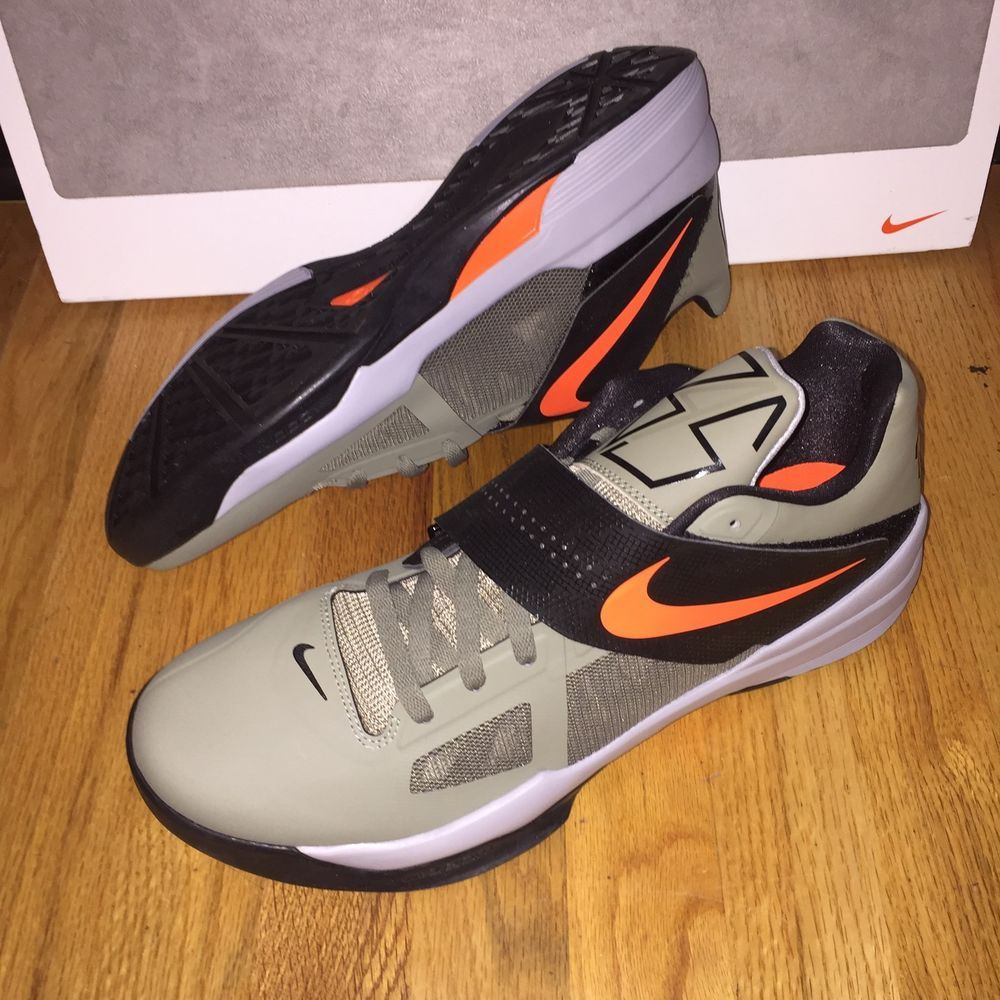 promo code bfb73 1bb22 Nike Zoom KD 4 Undefeated Rogue Green Orange 473679-302 Mens Shoes Size 14  New  Nike  BasketballShoes