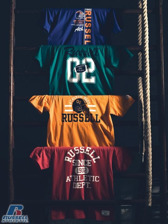 Russell Athletic Summer 2012 Collection #Russell #Athletic  #Russellbrands #Authentic #American #SportsWear #Apparel #Summer #Collection #Sports #Wear #Sweatshirt #Menswear #Womanswear