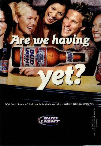 Marvelous Bud Light Ad Photo