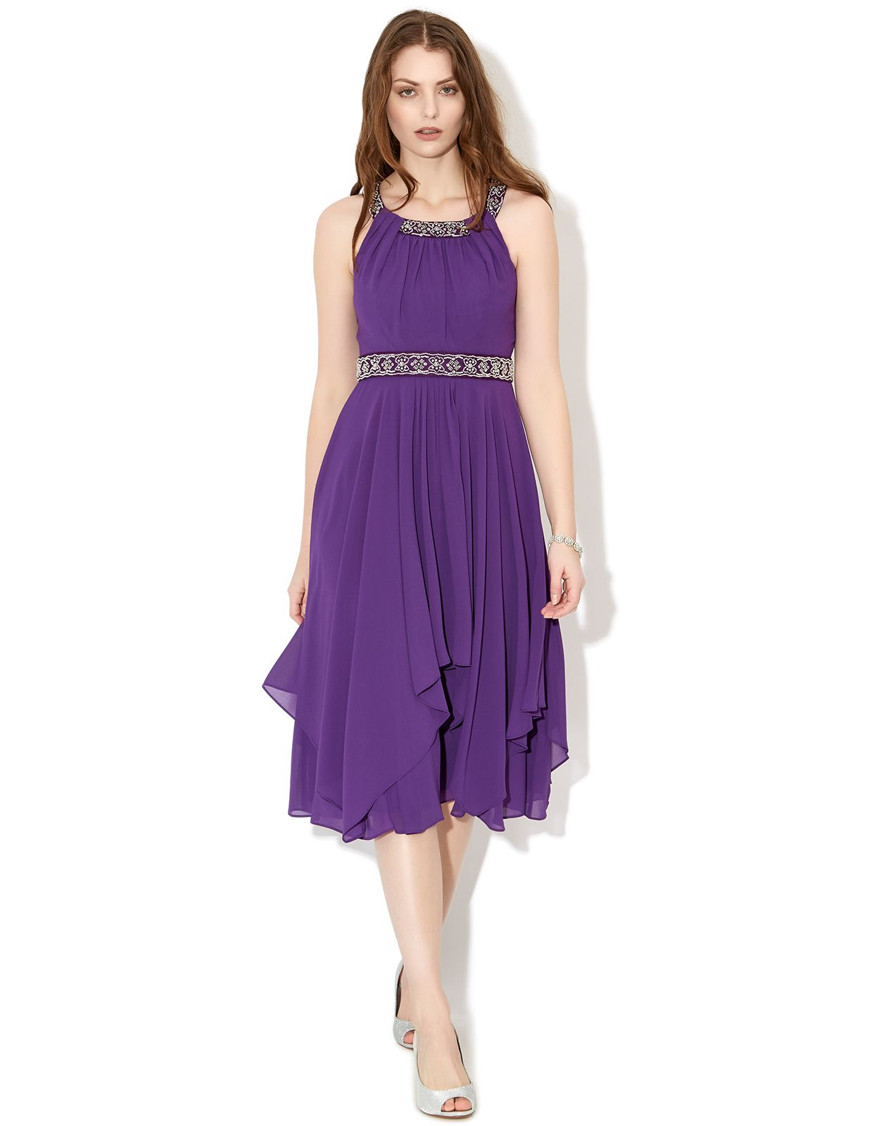 Annalise Dress | Purple | Monsoon | wedding stuff | Pinterest ...