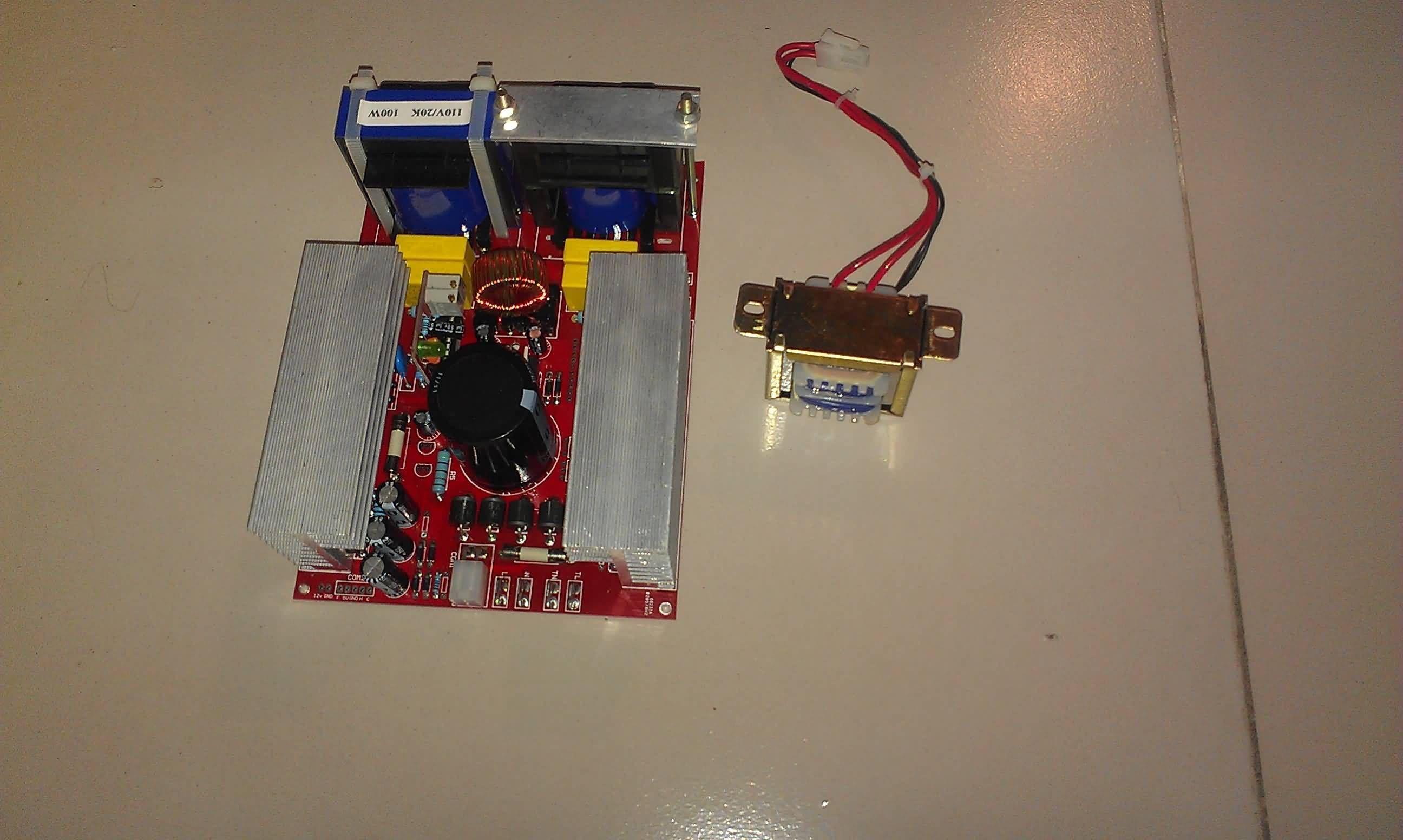 20khz 100w 110v 220v Ultrasonic Generator Pcb Circuit Schematic Technical Term Know