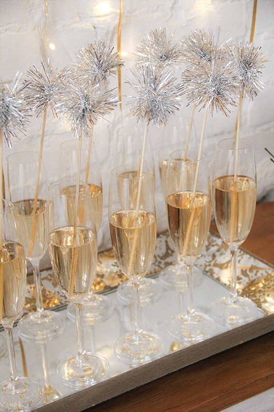 Photo of 15 Amped Up New Years Eve Party Ideas | The Unlikely Hostess