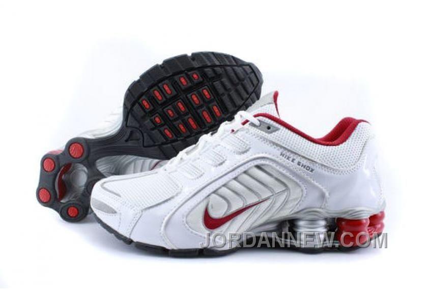 http://www.jordannew.com/mens-nike-shox-r5-shoes-white-grey-red-new-style.html MEN'S NIKE SHOX R5 SHOES WHITE/GREY/RED NEW STYLE Only $75.28 , Free Shipping!