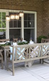 Lowe's Spring Makeover Reveal | Green home furniture ... on Lowes Outdoor Living id=39506