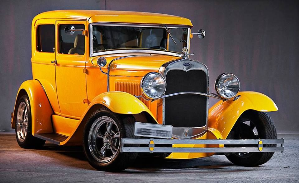 Brazilian 1931 Ford Hot Rod in Striking Yellow / WHEN I WAS A KID WE ...