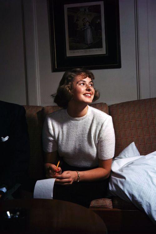 Ingrid Bergman August 29, 1915 - August 29, 1982