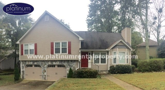 Kennesaw Home For Rent Is Located In The Winchester Forest Subdivision Renting A House House Rental Atlanta Homes