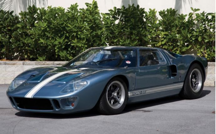 1966 Ford Gt40 Mk1 Ford Gt40 Ford Gt Hot Cars