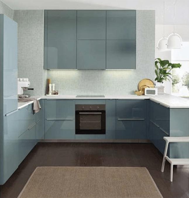 Dirt Cheap Decor Play Kitchen And Food Diy: Ikea Kallarp Kitchen Turquoise