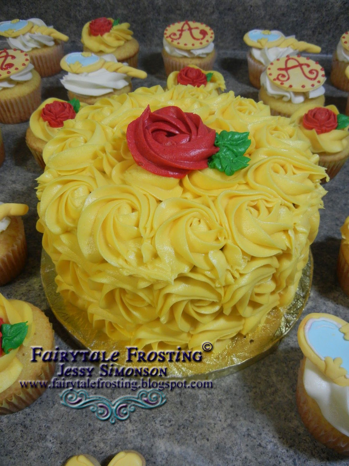 Fairytale Frosting Belle of the Ball Ella Bday Pinterest