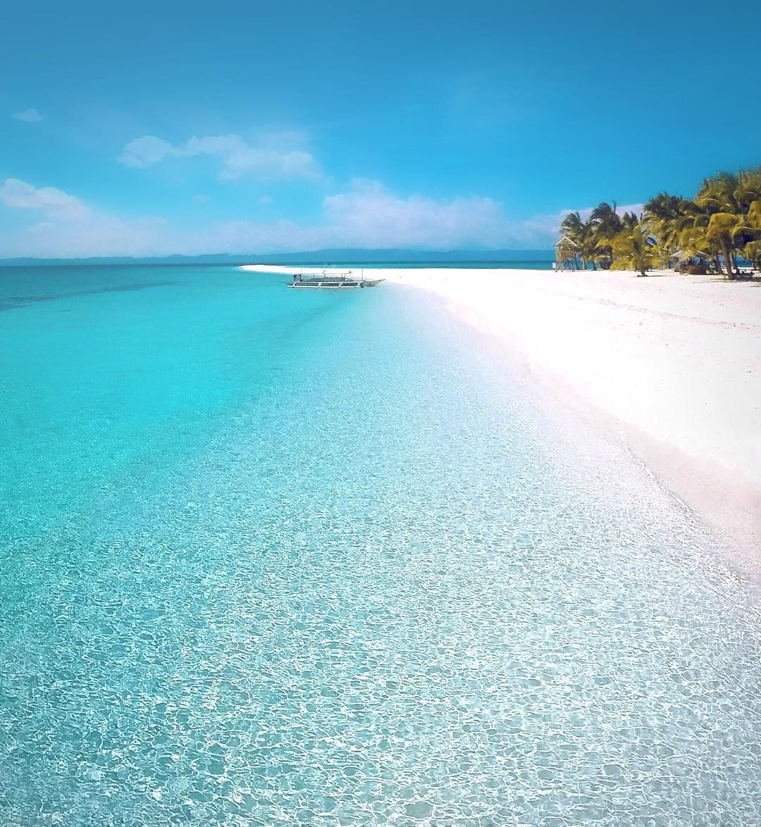 Tropical Island Beaches: Island Vacation Beach Holiday Clear Blue Water White Sand