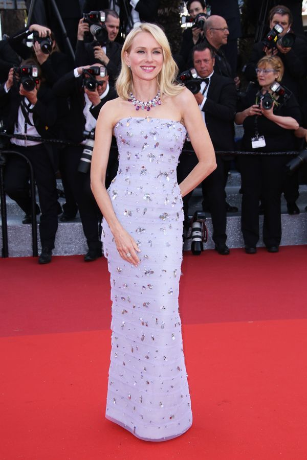 All The Looks From Cannes That Made Us Actually Want To Watch The Movies #refinery29  http://www.refinery29.com/2016/05/110633/cannes-film-festival-best-dressed-2016#slide-15  Naomi WattsIt's been a while since we've seen lavender on the red carpet. And we're glad Armani Privé made us fall in love with it all over again. Killed it, Naomi....