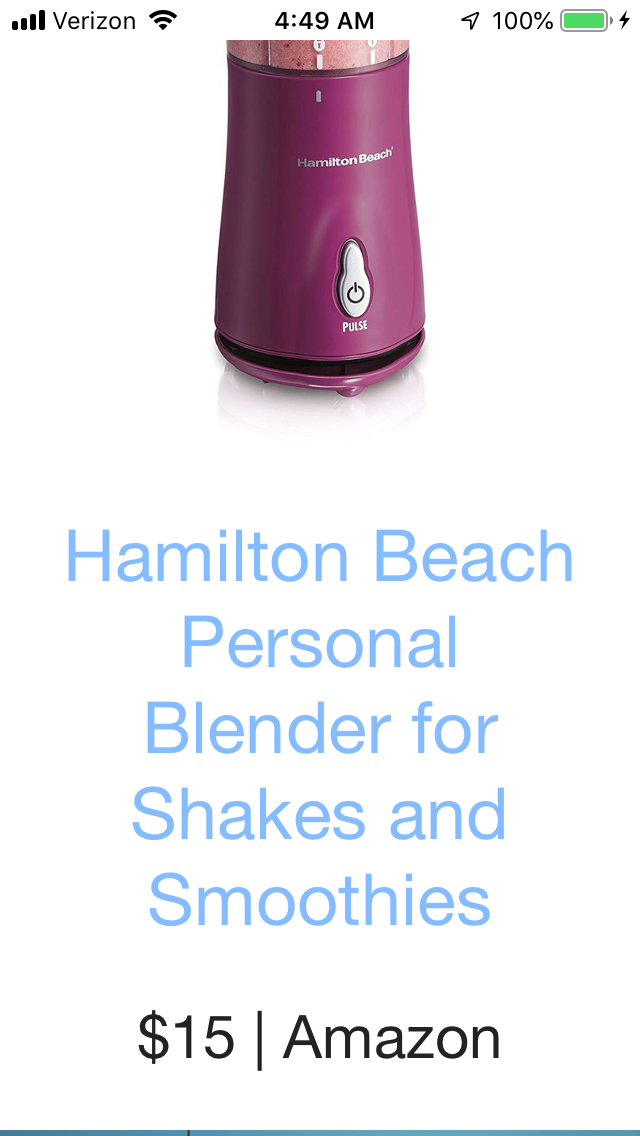Pin By Jamie Millet On House For The In 2020 Smoothies Shakes Hamilton Beach