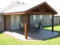 Delightful Open Gable End Patio 22x24 | Patio Cover Full Gable