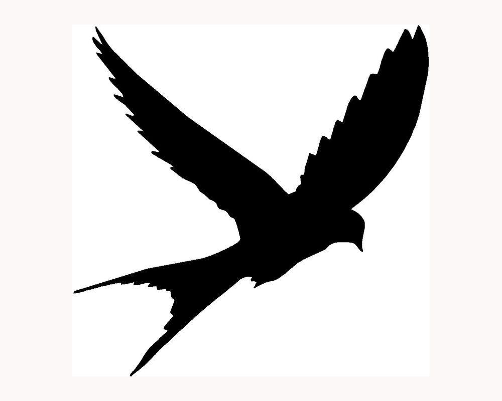 Aninimal Book: Birds Flying Silhouette Tattoo - ClipArt Best | Bird Motif ...