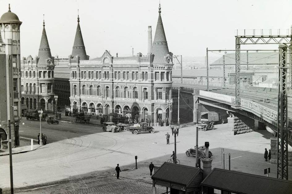 Spencer Street Mid Last Century Australia History Melbourne