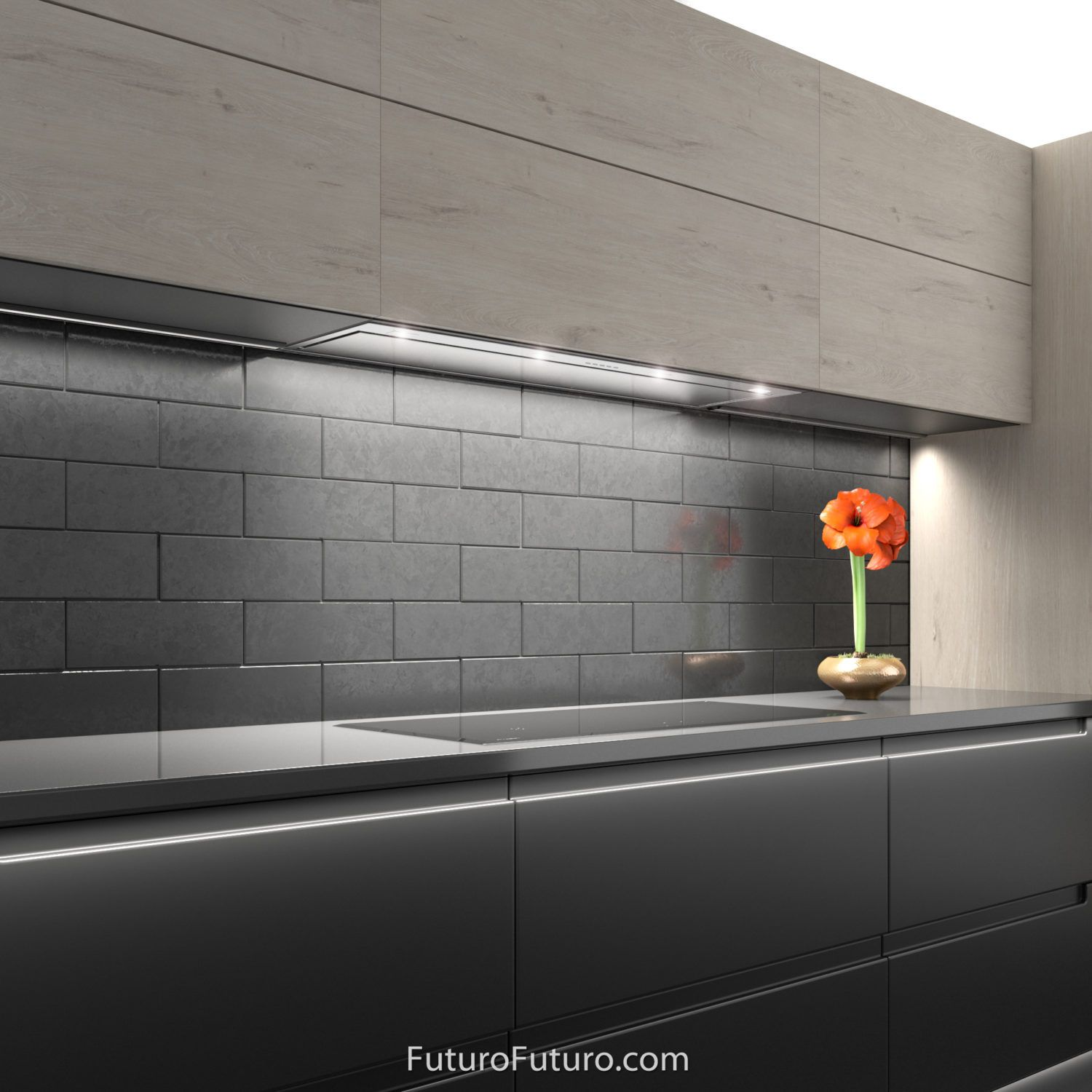 42 Insert Liner Wall The Perfect Ventilation Solution For Custom Cabinetry A Complete Range Hood Insert With Range Hood Kitchen Hoods Kitchen Range Hood
