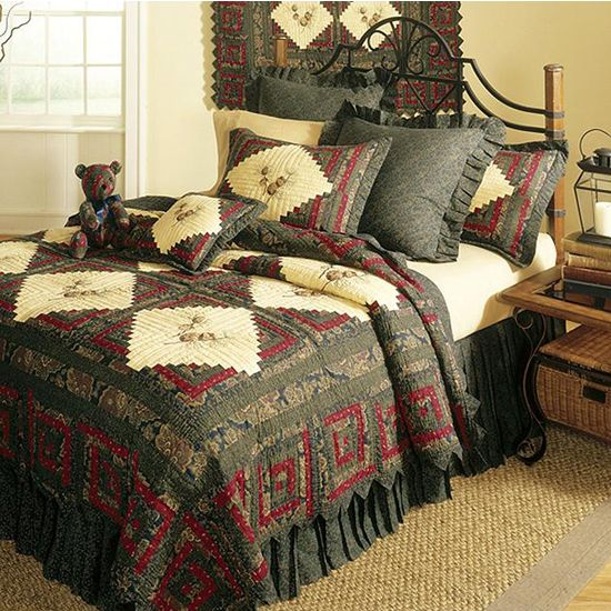 Pinecone Bedding Cabin Bedding And Western Bedding