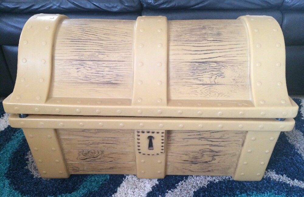 Little Tikes Super Vintage Treasure Chest Toy Box Rare Nice Littletikes Toy Boxes Little Tikes Toys