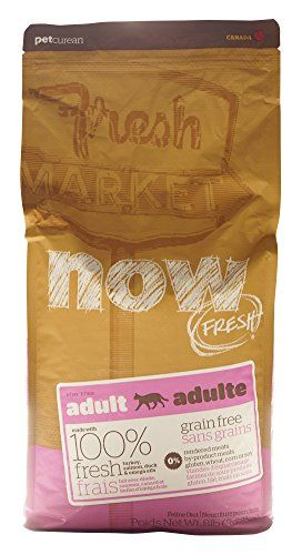 Now 152319 Fresh Grain Free Food For Adult Cats 8pound Bag