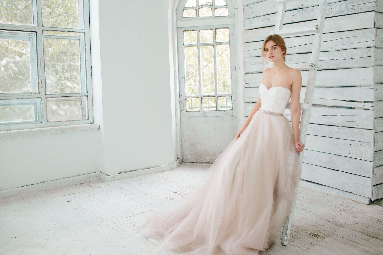 Dieser Artikel enthält separate erröten Hochzeit Tüllrock, Off-White ...