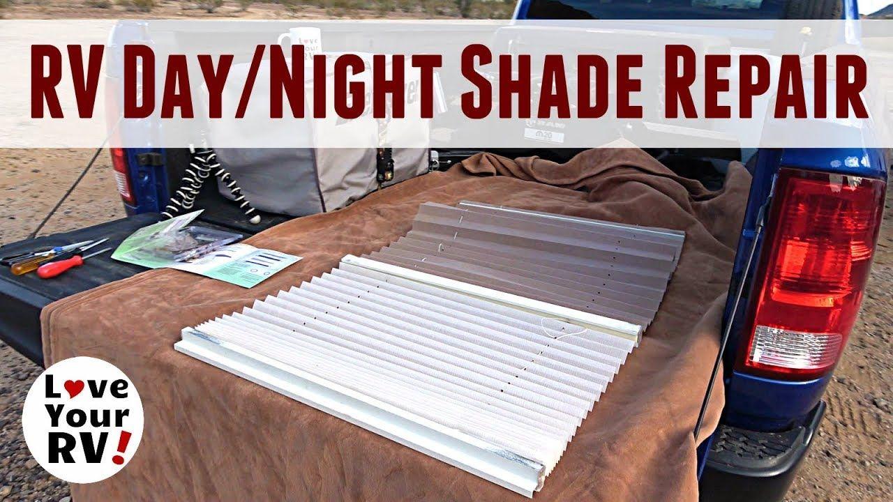 Rv daynight shade repair restringing my broken blind