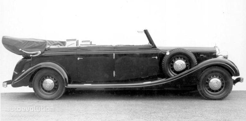 Ferrari Models History Photo Galleries Specs Autoevolution >> Maybach Typ Sw 42 Cabriolet Specs 1940 1941 1942 1943 1944