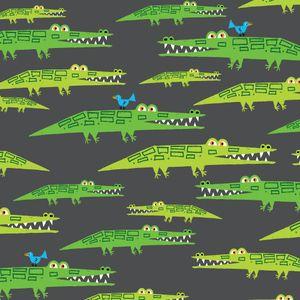 Ed Emberley - Happy Drawing - Alligators in Green