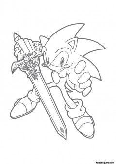 Printable Cartoon Sonic The Hedgehog Coloring Pages Printable Coloring Pages For Kids Hedgehog Colors Cartoon Coloring Pages Coloring Books