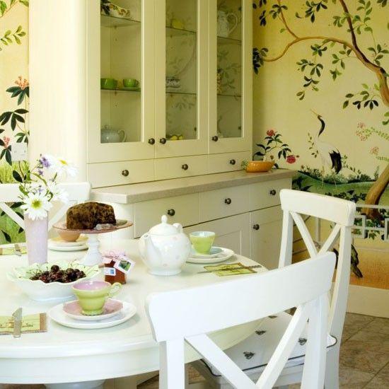 MFI - Floral kitchen/diner   Kitchen design   Decorating ideas   Image   Housetohome