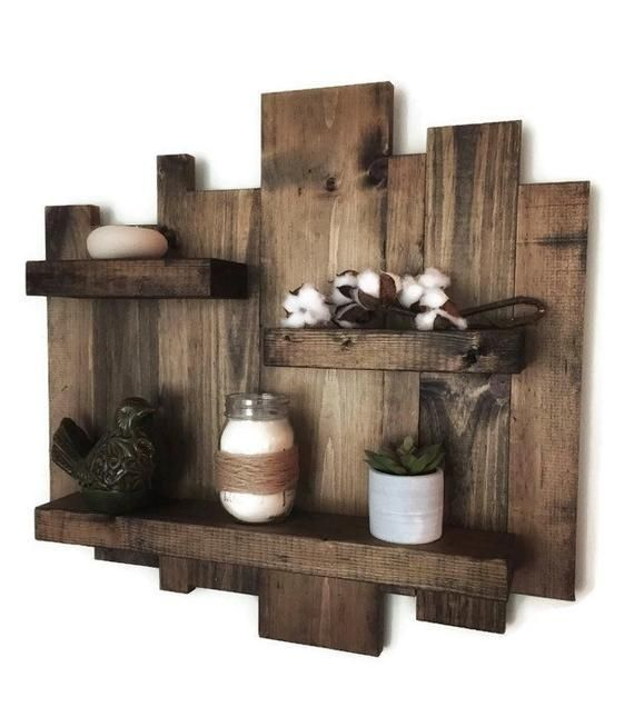 Rustic Wall Shelves Image By Debanee On For Our Home
