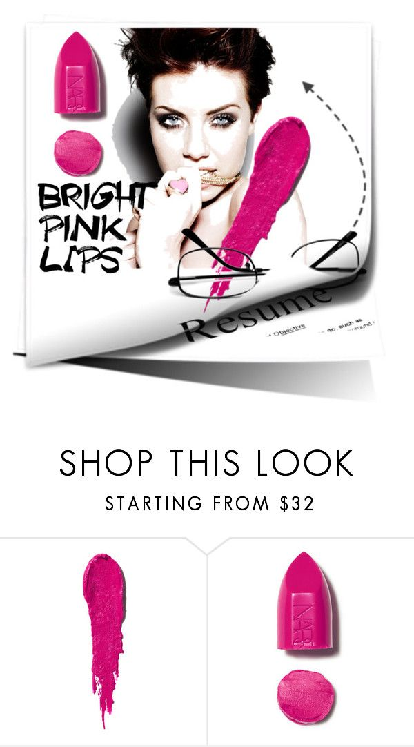 """""""Untitled #919"""" by kvietok ❤ liked on Polyvore featuring beauty and NARS Cosmetics"""