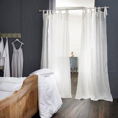 gardine lesbaux aus leinen wohnen in 2019. Black Bedroom Furniture Sets. Home Design Ideas