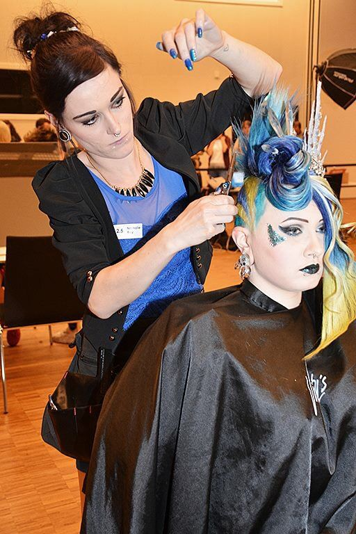 Hairdressing  Contest  Second place  Stressed Swiss Hair Talent 2016