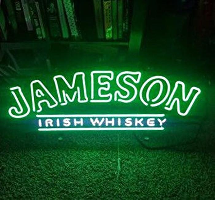 Jameson Irish Whiskey Neon Sign Real Neon Light for sale