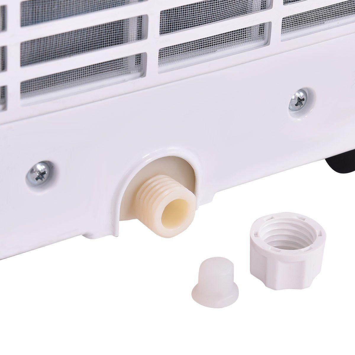 Costway 10000 Btu Portable Air Conditioner Dehumidifier Function Window Wall Mount W Remote Control Portable Air Conditioner Dehumidifiers Air Conditioner