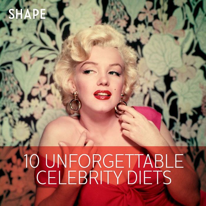 Marilyn Monroe New Years Quotes: 10 Unforgettable Celeb Diets Through The Years