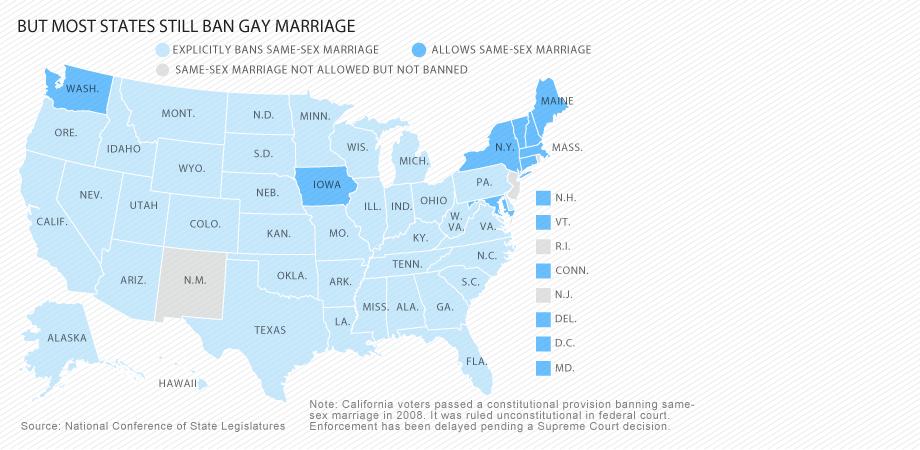 same sex unions debate in Ohio