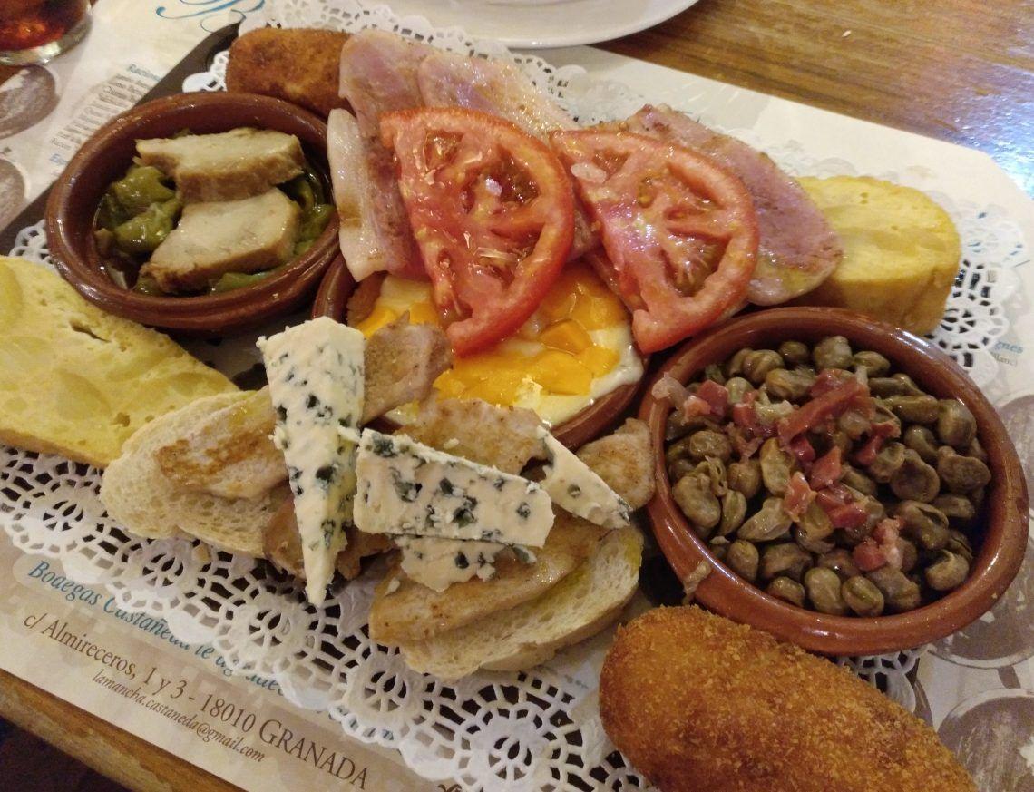 Ruta De Tapeo En Granada Por Sus Mejores Barras Y Recomendaciones De Otras Delicias Gastronómicas Dulces H Restaurantes Para Comer Comida étnica Gastronomico