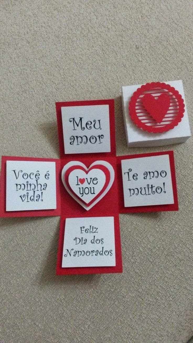 Handmade scrapbook ideas for birthday - Diy Decora O Ideias Para O Dia Dos Namorados 2