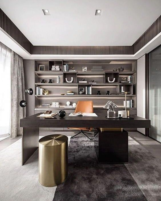 33 Creative Home Study And Work Room Design Ideas For Special You Hcylife Blog Modern Office Decor Home Office Design Small Office Room
