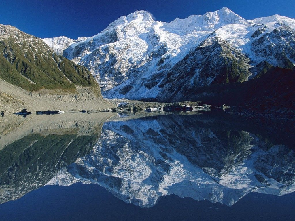Fondo Escritorio Picos Montañas Nevadas: Montañas Nevadas: Http://wallpapic