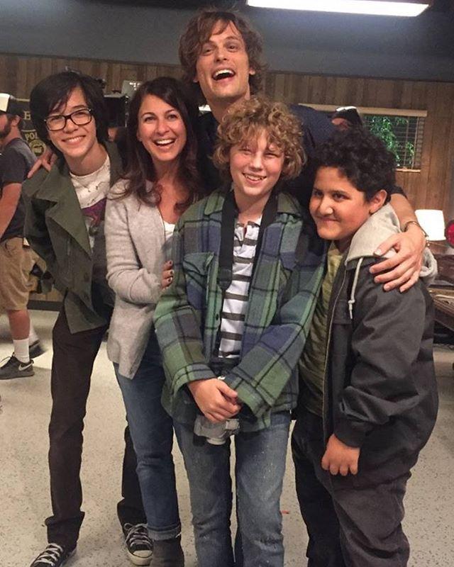 spencer reid season 6. spencer reid · matthew with cast members from episode 6 of criminal minds season 12