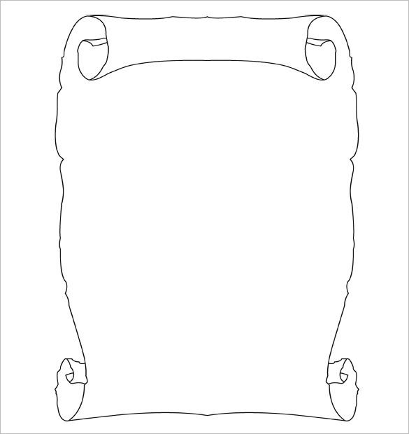 13+ Scroll Paper Templates \ PSD Designs! Free \ Premium - free white paper templates