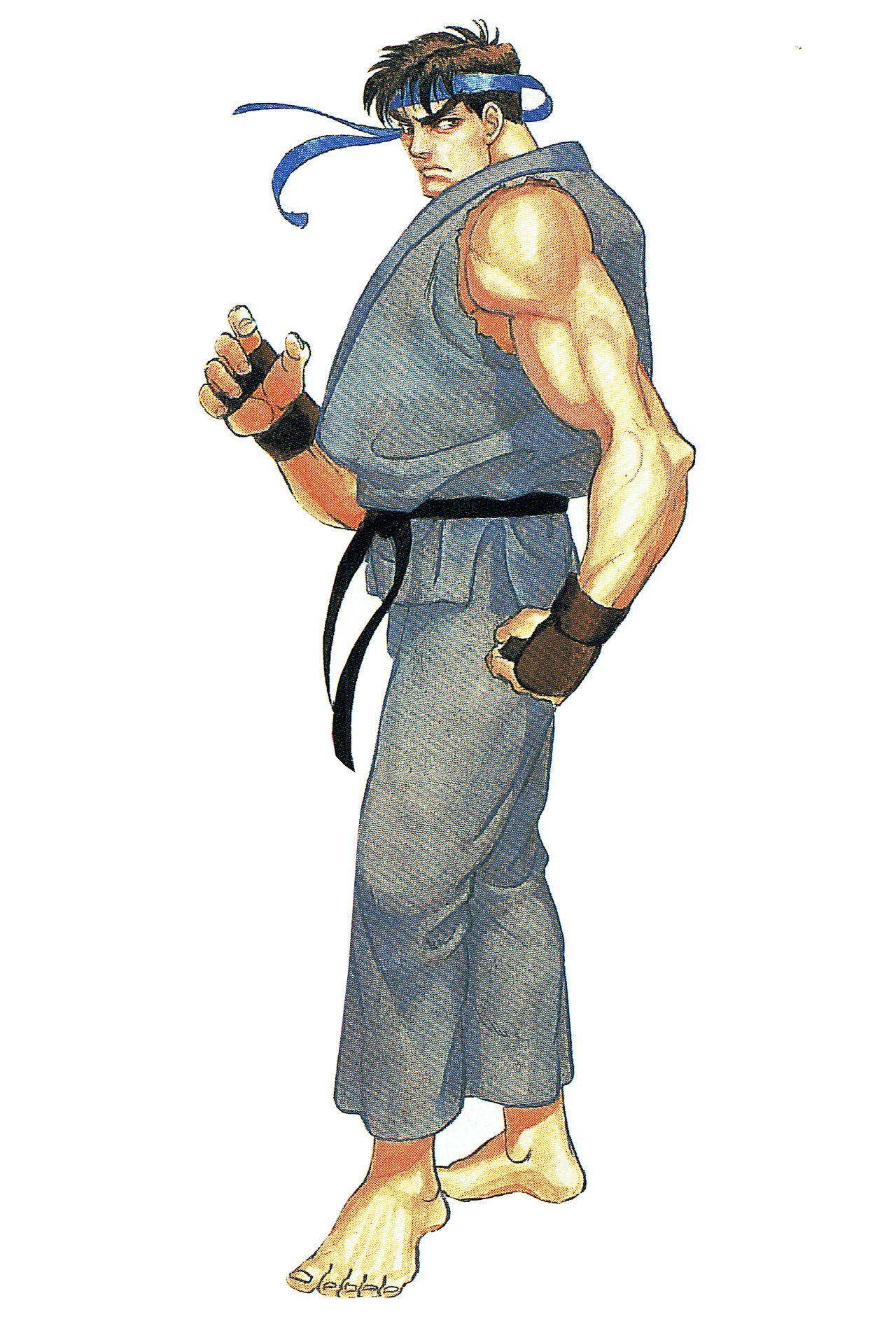 Ryu Artwork For Capcom Unity S Street Fighter Ii Special