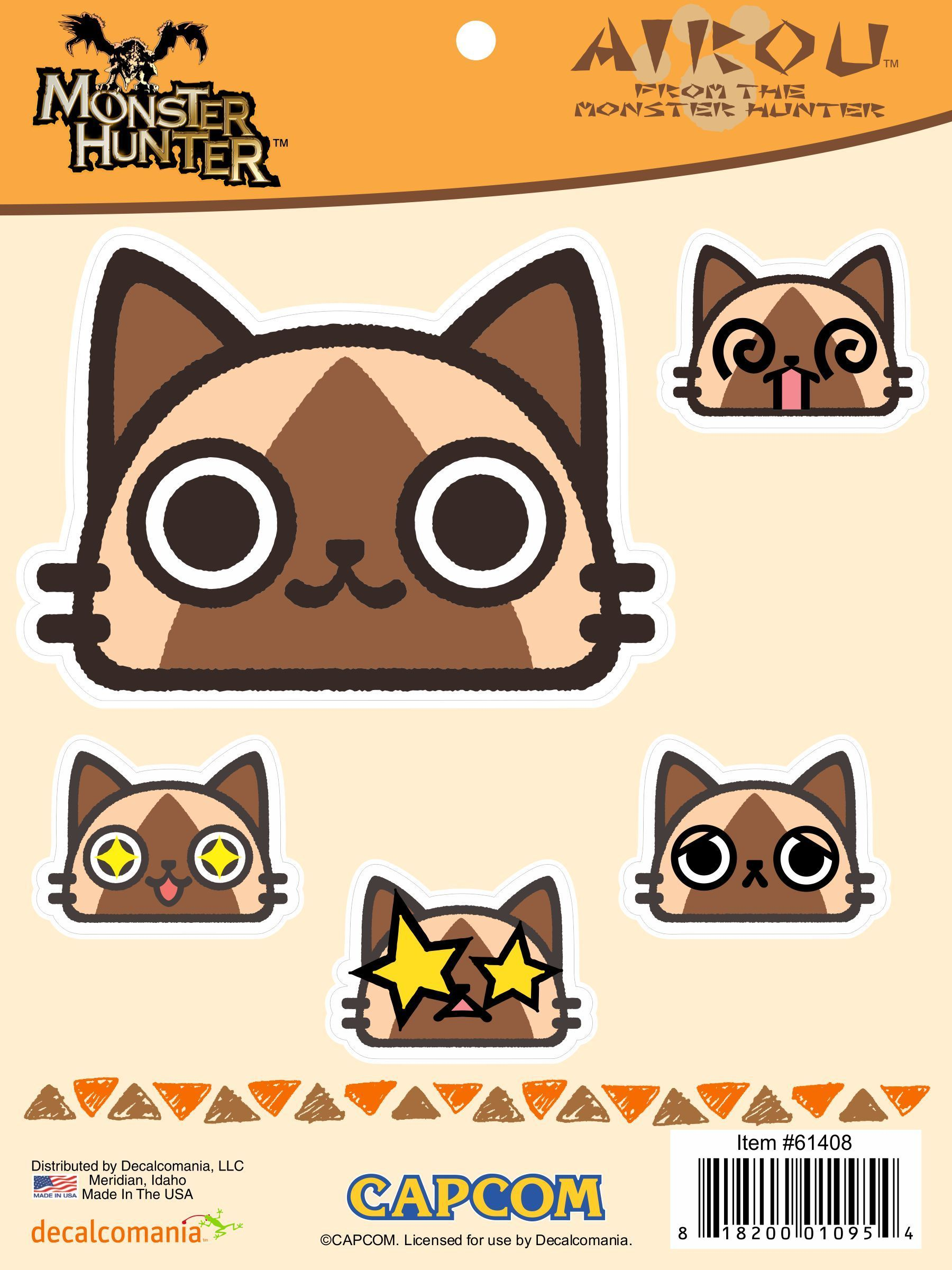 Monster Hunter Airou 2 Decal Sticker