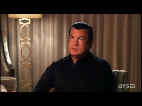 Rare Intimate Interview With Steven Seagal Youtube Steven