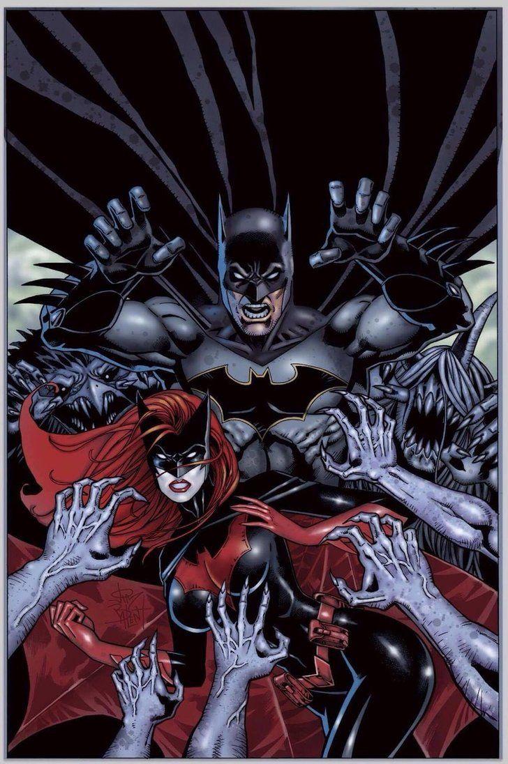 Batman an Batwoman vs. The Monster Men   Batman Art   Pinterest   Papel